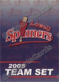 2005 Lowell Spinners header card