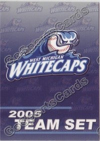 2005 West Michigan WhiteCaps Header Card