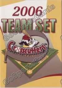 2006 Williamsport Crosscutters Header Card