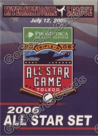 2006 International League All-Stars Choice Header Card