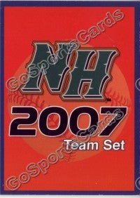 2007 New Hampshire Fisher Cats Header Card