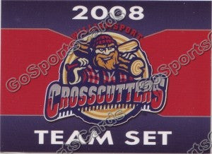2008 Williamsport Crosscutters Header Card