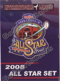 2008 International League All Star Header Card