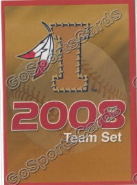 2008 Kinston Indians Header Card