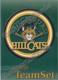 2008 Lynchburg Hillcats Header Card