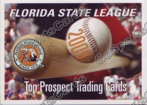 2009 Florida State League Top Prospects Header Card