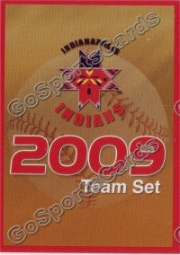 2009 Indianapolis Indians Header Card