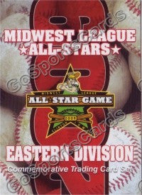 2009 MidWest League All Star Eastern Division Header Card