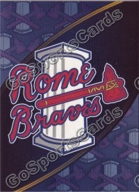 2009 Rome Braves Header Card