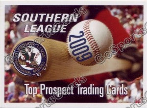 2009 Southern League Top Prospect Header Card