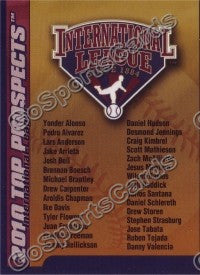 2010 International League Top Prospects Header Card