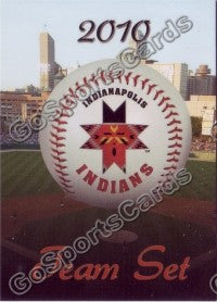 2010 Indianapolis Indians Header Card