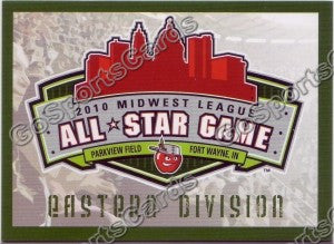 2010 MidWest League All Star Eastern Header Card