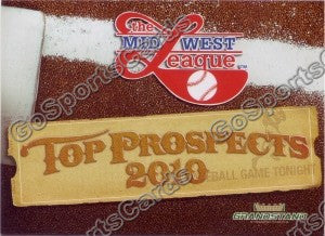 2010 MidWest League Top Prospects Header Card