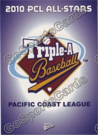 2010 Pacific Coast League All Star header card