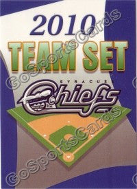2010 Syracuse Chiefs header card