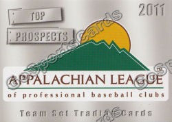 2011 Appalachian League Appy Top Prospects Header