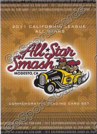 2011 California League All Star Header Card