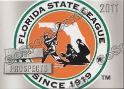 2011 Florida State League Top Prospects Header Card
