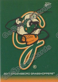 2011 Greensboro Grasshoppers Header Card