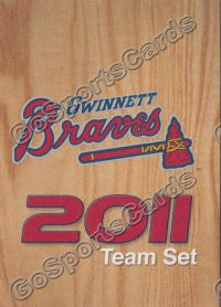 2011 Gwinnett Braves Header Checklist