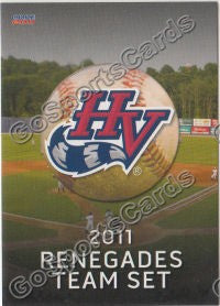 2011 Hudson Valley Renegades Header Checklist