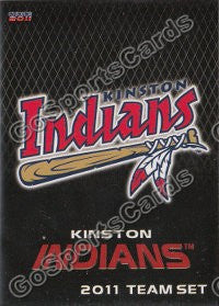 2011 Kinston Indians Header Card