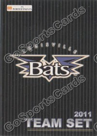2011 Louisville Bats Header Checklist