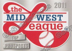 2011 MidWest League Top Prospects Header Card