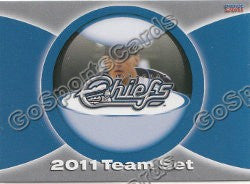 2011 Syracuse Chiefs Header Checklist Card