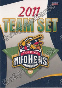 2011 Toledo Mud Hens Header Card
