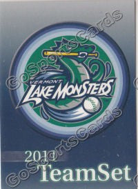 2011 Vermont Lake Monsters Header - Checklist