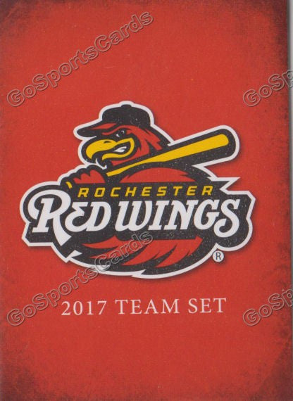 2017 Rochester Red Wings Header Checklist
