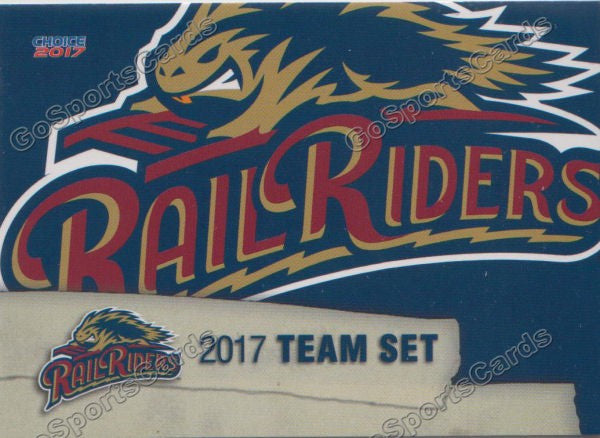 2017 Scranton Wilkes Barre RailRiders Header Checklist