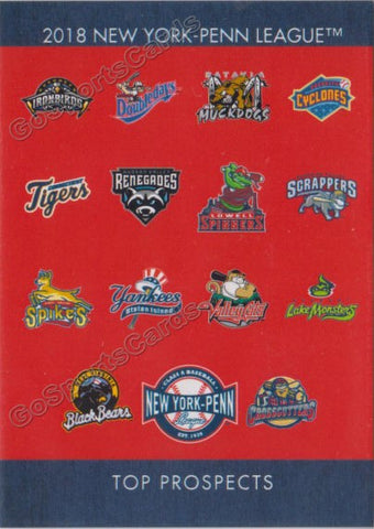 2018 New York Penn League Top Prospects NYPL Header Checklist