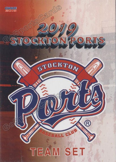 2019 Stockton Ports Header Checklist