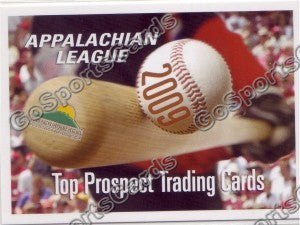 2009 Appalachian League Appy Top Prospect Header Card