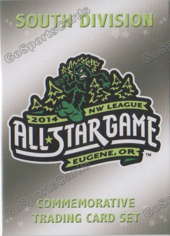 2014 Northwest League All Star Team Set