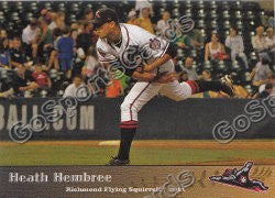 2011 Richmond Flying Squirrels Heath Hembree