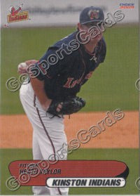 2009 Kinston Indians Heath Taylor