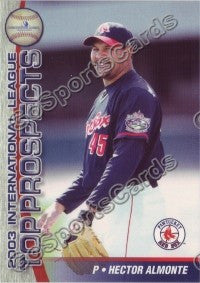 2003 International League Top Prospects Choice Hector Almonte