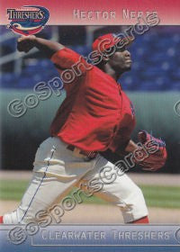 2012 Clearwater Threshers Hector Neris