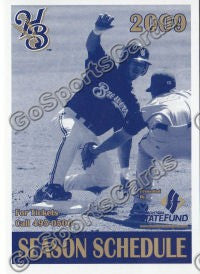 2009 Helena Brewers Pocket Schedule