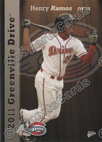 2011 Greenville Drive Henry Ramos