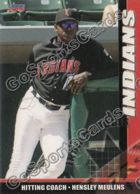 2006 Indianapolis Indians Hensley Meulens