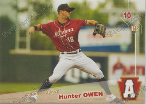 2019 Altoona Curve Hunter Owen