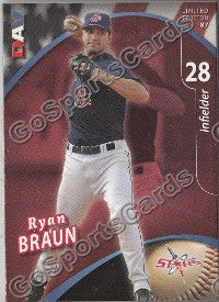 2009 Huntsville Stars DAV Team Set (Ryan Braun)