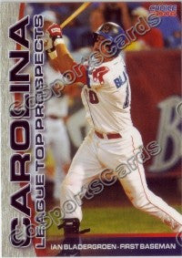 2006 Carolina League Top Prospects Ian Bladergroen