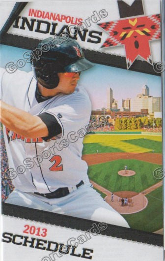 2013 Indianapolis Indians Pocket Schedule