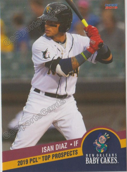 2019 Pacific Coast League Top Prospects Isan Diaz